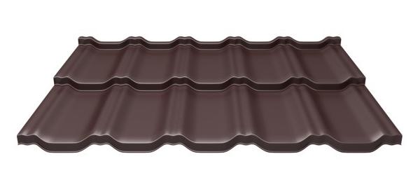 Модульная металлочерепица Grand Line Kvinta Uno