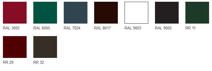 цветовые решения водостока гранд лайн